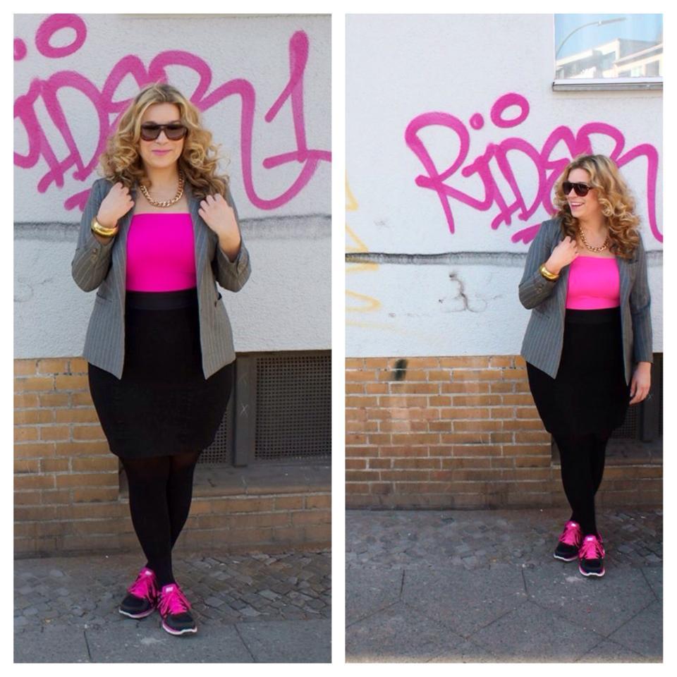 Style-Challenge Neon-Pink-Megabambi-Plussizeoutfit-caterinapogorzelski