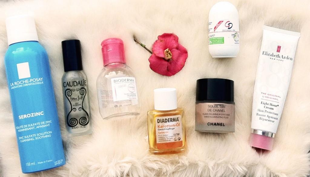 Aufgebrauchte Beautyprodukte