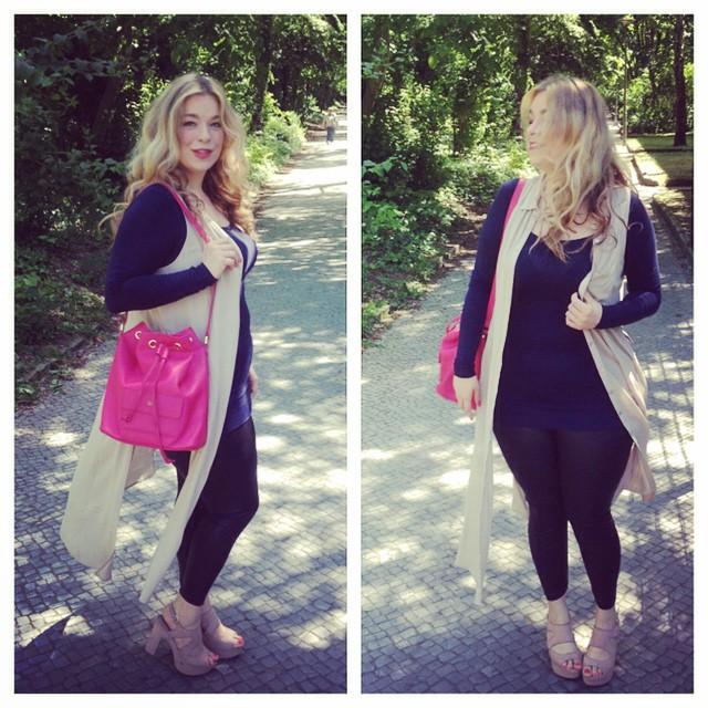 Outfit of today: Long blouse:@forever21+ Pants:@forever21+ Mini dress:intimissimo Bag:@iloveoona Shoes:Asos @plusmodelmag #aboutthelook #beautywithplus #curvy #curvyfashion #currentlywearing #celebratemysize #igers #daretowear #everybodyisflawless #germanblogger #fashionista #fashionpost #fashionforwardplus #fashionblogger_de #fashionstyling #honormycurves #happygirl #instafashion #ootd #plussize #plus_isamust #projectoona #iloveoona