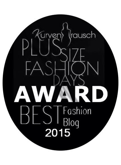 Plus size fashion days award