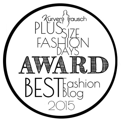 Plus Size Fashion Days Award Best Fashion Blog 2015
