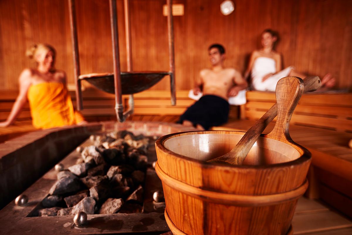 Sauna-Spa-anlagen Megabambi