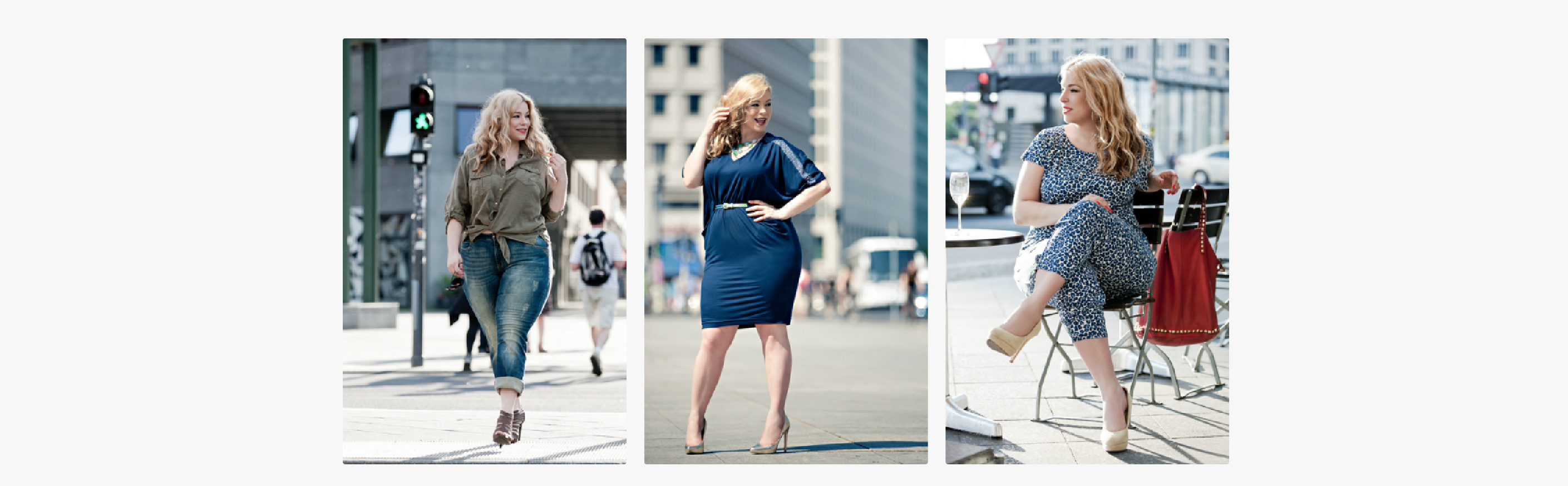 Plus size Model -My setcard Caterina Pogorzelski