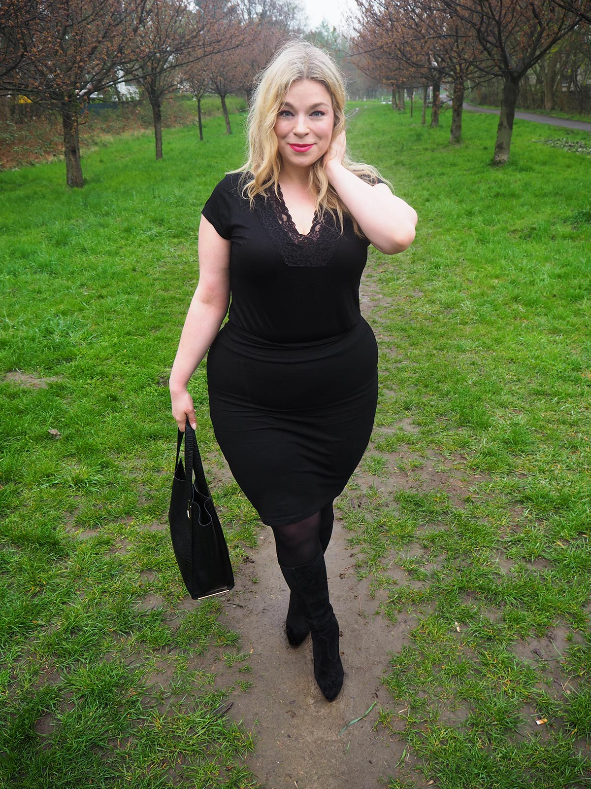 just be yourself-styled by him- Plus Size Megabambi