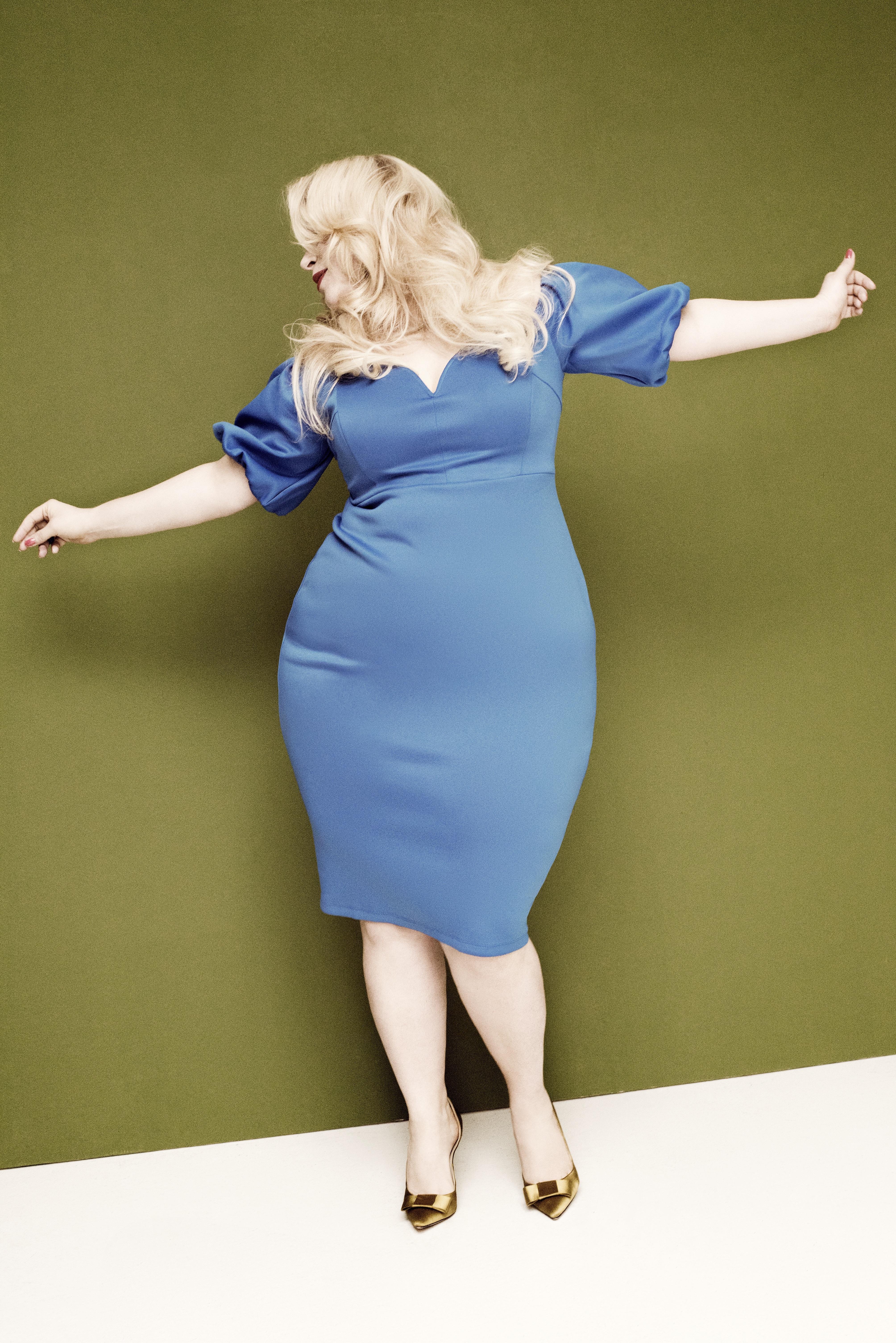fashionweek-berlin-Caterina-pogorzelski-curvy-magazine-norbert-hurle-Plus-size-Model-curvy